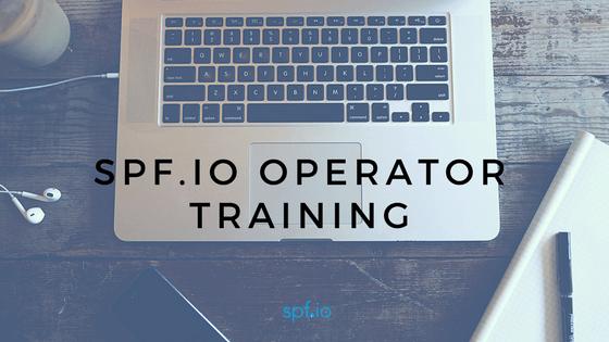 spf.io Operator Training
