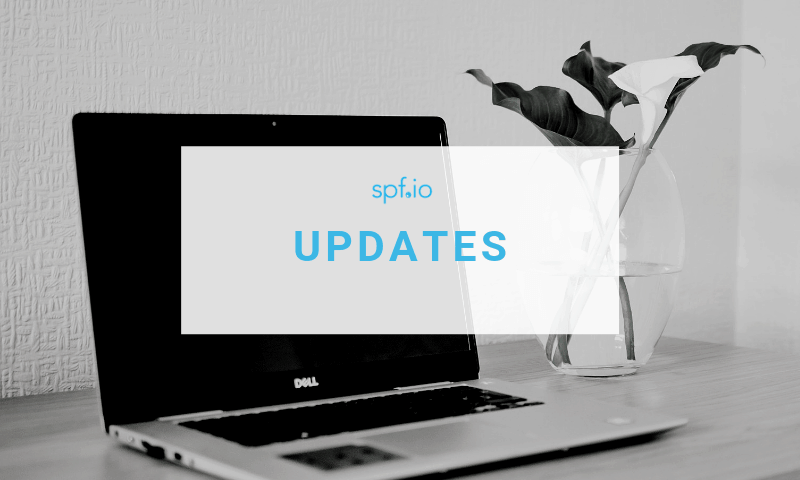 Spf.io March 2019 Release Updates