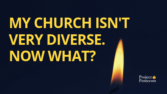 My church isn't very diverse. Now what?
