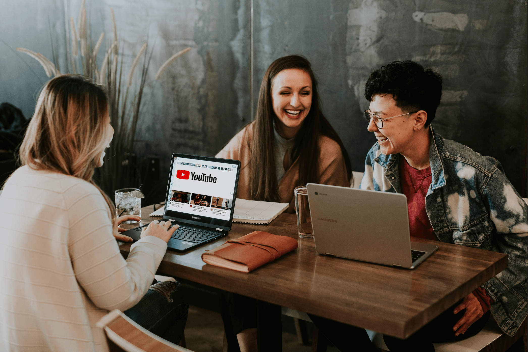 Volunteers creating community sourced captions for YouTube